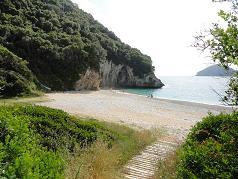 Corfu, Liapades, Rovinia Beach