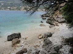 Corfu, Liapades, Klimatia Beach