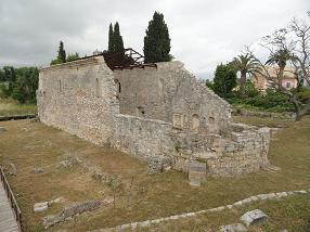 Corfu Town, Agia Kerkira & Roman baths
