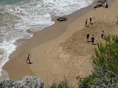 Corfu, Mirtiotissa naturist beach