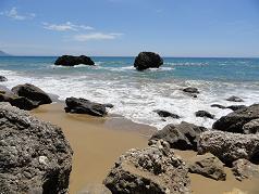 Corfu, Mirtiotissa naturist beach