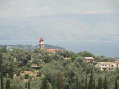 Corfu, Life Giving Spring Orthodox Church, Kastellanoi
