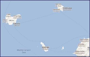Map Corfu