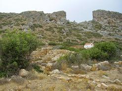 Ancient Falassarna, het antieke Falassarna, Kreta, Crete