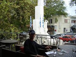 Gefyra Cafe Snackbar, Vrisses, Crete, Kreta