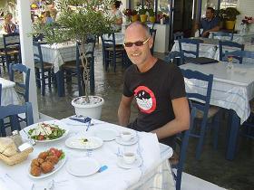 Anargyros Restaurant in Antiparos