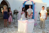 weddings in Antiparos Greece, trouwen op Antiparos in Griekenland