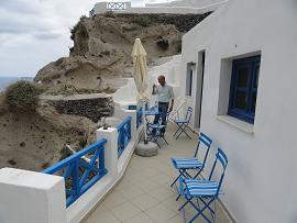 Santorini, Oia, the three houses of Leandros Traditional Houses