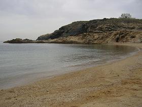 Myrsini Beach on Mykonos