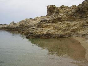 Myrsini Beach op Mykonos