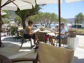 Paros, Parikia, Livadia Beach, Onar cafe
