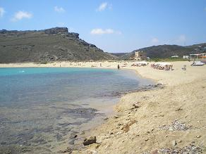 Panormos Beach on Mykonos