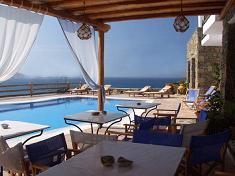 Paradision Hotel in Tourlos, Mykonos