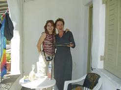 Paros, Anna and Tess in Ikia Studios