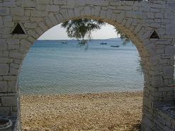 Paros, Alyki town beach