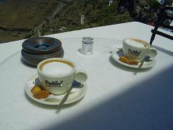 Santorini, Fira, Art Cafe