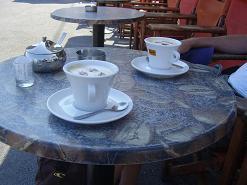 Santorini, Athinios, Dodoni Café