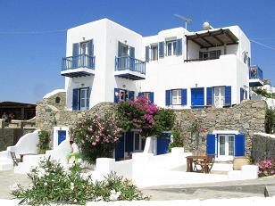 Villa Konstantin in Mykonos town