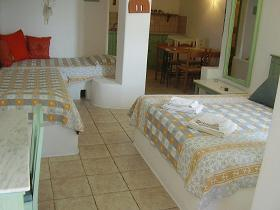 Villa Konstantin in Mykonos town, our studio