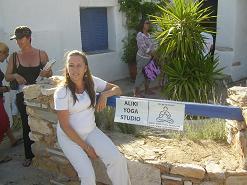 Paros, Yoga in Alyki, Oona 2009