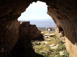 Castello Rosso in Karystos Evia