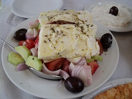 Karvoraki taverna in Karystos Evia