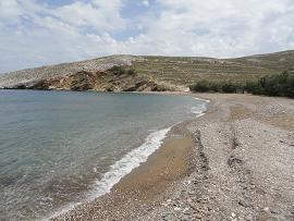 Folegandros, Karavostasis, Livadi Beach