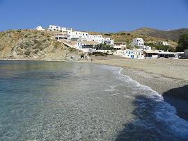 Folegandros, Agali Beach