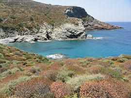 Folegandros, Ampeli Beach