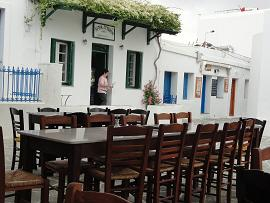 Folegandros, Chora, Taverna Nicolas Place