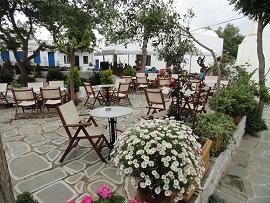 Folegandros, Chora, Taverna Dunavis