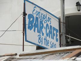 Folegandros, Karavostasis, Evangellis Beach Bar