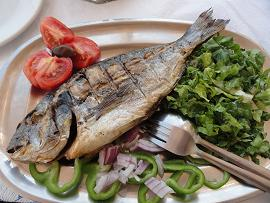 Folegandros, Kalymnios restaurant