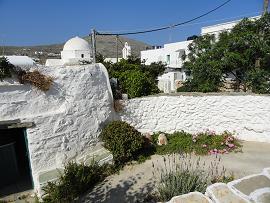 Folegandros, Chora, Pounta Garden Restaurant