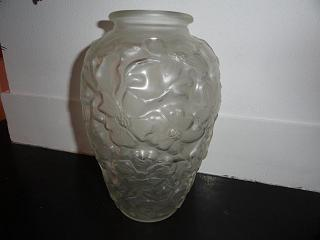 Lalique stijl vaas