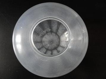 Copier Sonoor optiekvaas met tincraquelé uit 1935