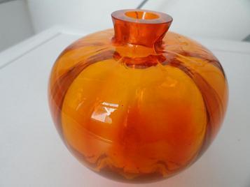 Copier oranje Beatrix vaasje, oranjevaasje uit 1938