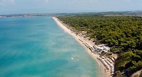 Sani beach, Kassandra, Halkidiki