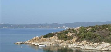 Moussiou Beach, Amoliani, Ammouliani, Halkidiki, copyright Helianthus Guesthouse