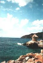Windmolen in de haven van Egiali