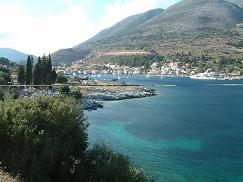 Kefalonia, S Eufemia Bay