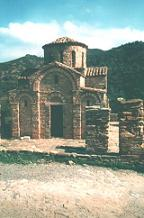 The Byzantine Panagia church.