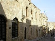 Street of the knights in Rhodes town