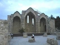 Remains of a church in Rhodes town