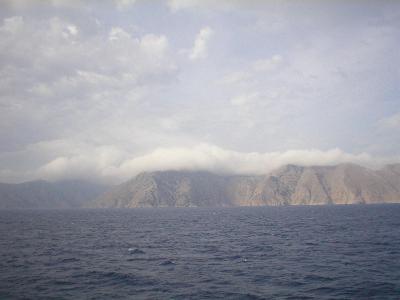 Blik op Symi vanaf de boot