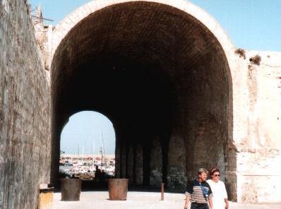 Venetiaanse gebouwen in Heraklion.