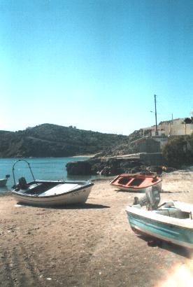 Het dorp Kali Limenes