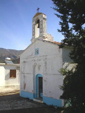 a church in Kandanos