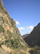 The beautiful landscape around the Agia Sophia Cave.
