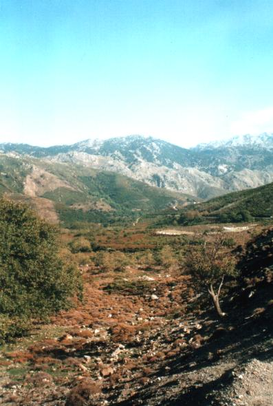 Surroundings of Sougia